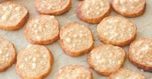 THESE CRACKERS MAKE GREAT GIFT — The ingredients and technique for making these crackers are similar to those used to make pie dough. Butter and flour (with added flavorings) are its bones. (AP Photo/Matthew Mead)