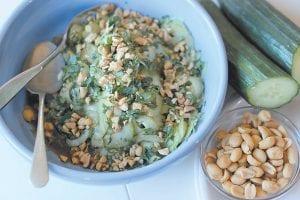 Tai Cucumber Salad. (AP Photo)