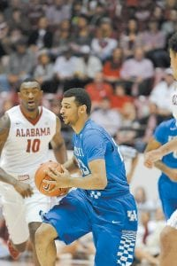 Former high school teammates say they have not been surprised by Jamal Murray's success this year and expect him to do even more. (Photo by Vicky Graff )