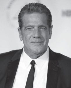 Glenn Frey, founding member of The Eagles, is pictured at the Rock and Roll Hall of Fame induction ceremony on 2014. Frey died Monday. (AP Photo)