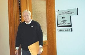 Darrell Hall filed to run for Letcher Circuit Judge last week in Frankfort.