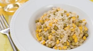 Pea and Corn Risotto