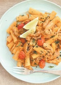 Tai Chicken Pasta. (AP Photo)