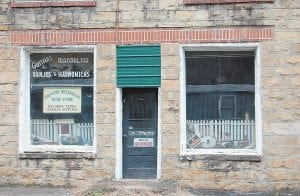The old Whitaker Music Store was last open as a country and bluegrass music store.