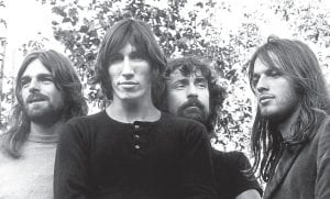 "This week in 1973, the Pink Floyd album ""The Dark Side of the Moon"" was first released in the U.S. by Capitol Records (the British release came nearly two weeks later). The album continues to be in wide demand and had charted on Billboard's Top 200 albums list a record 917 weeks by the end of 2015. Richard Wright (left), Roger Waters, Nick Mason and David Gilmour in a 1972 promo shot taken just a few weeks before the release of ""Dark Side of the Moon."""