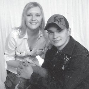 Sarah Yeary Lewis will be 24 years old on March 12. She is pictured with her husband, Donnie Lewis Jr. of Partridge, and is a x-ray technician graduate of Southeast Kentucky Community College. Her parents are Geraldine Yeary and Parnell Parsons and the late Ray Yeary.