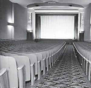 This photo taken inside the then-new Isaac's Alene Theatre by Wainscott Studios of Cumberland show why the movie house was considered one of the finest in all of eastern Kentucky when it opened in 1950. Sadly, the theatre closed in the mid-1980s.