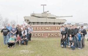 The Letcher County Central High School JROTC drill team attended the JROTC 7th Brigade Drill Competition in Radcliff March 11-13, competing against 48 other schools. The cadets were evaluated on uniform inspection, unarmed drill, unarmed color guard and drill exhibition, and toured Fort Knox and the Patton Museum. The LCCHS JROTC will attend the All Army National drill competition April 7-9 in Louisville. The JROTC honor guard also conducted a flag retirement for the University of Kentucky Extension Office in Whitesburg on March 18. The drill team is Zeik Hampton, Kimmie Stamper, Stephanie Hurst, Makayla House, Austin Adams, Ashley Haley, Gracie Hall, Kody Short, Joseph Gross, Chase McBee, Megan Thompson, Hannah Caudill, Madison Adams, Jaydon Tolliver, Luke Little, Colton Riffe, Jason Adams, Dalton Hayes, Kody King and Dalton Werley.
