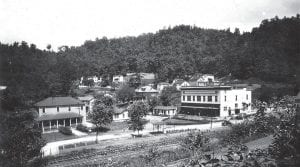 This week in 1946, miners and their families living in the town of Dunham, seen above in May 1930, were receiving word that Consolidation Coal Company was getting out of the real estate business and selling all of its company towns in eastern Kentucky, beginning with the Van Lear camp in Johnson County. The company assured residents it would remain in the coal mining business. (Photo courtesy UK Digital Library/David A. Zegeer Collection)