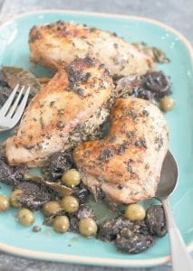"""This classic chicken marbella recipe is from Sheila Lukins and Julee Rosso's """"The Silver Palate Cookbook."""" (AP Photo/Matthew Mead)"""