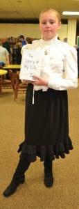 Trinity Whitaker as Helen Keller