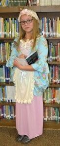 Gracie Parsons as Phillis Wheatley