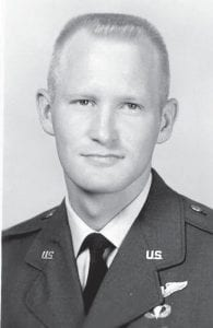 Lt. James N. Spangler was killed in a crash in Okinawa in May 1966.