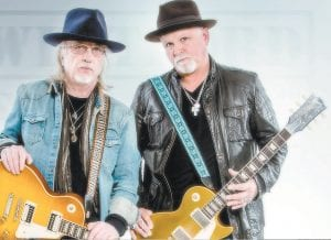 Aerosmith guitarist Brad Whitford (left) and former Ted Nugent band singer Derek St. Holmes will appear at Appalshop Theater in Whitesburg Sunday (June 12) at 8:30 p.m.