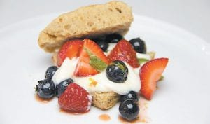 Cinnamon Biscuit Berry Shortcakes (AP Photo)