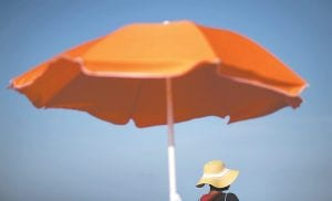 That sunscreen in your bag may not protect your skin as much as you think. Even after regulators updated standards for labeling sunscreen in 2012, tests have shown many provide far less protection than advertised. If you're going to be outside, experts recommend finding some shade and wear clothing that covers your arms and legs, and a broad-brimmed hat to protect your face, ears and neck. (AP Photo)