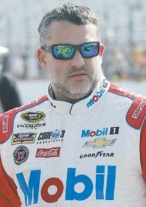 Tony Stewart finished last Sunday's race second and strengthened his spot inside the top 30 in the points standings. (AP photo)