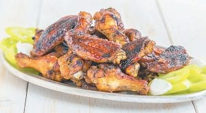 """""""Chicken Wings With Watermelon Chipotle Glaze."""" (Depositphotos.com)"""