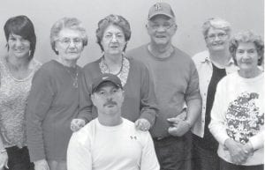 Pictured are Pearl and Charles Noble and their daughter Jennifer and David Holbrook, Linda Hall, and Dorthy Tacket and daughter Jeanette Yonts.