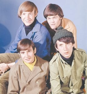 """September 8, 1965: The beginning of The Monkees An ad that appeared in New York City's """"Variety"""" magazine on September 8, 1965, drew 437 responses from young male musicians who hoped to be chosen a member of what would become America's first """"boy band,"""" The Monkees. By 1966, the band and TV show, """"The Monkees,"""" were on their way to becoming a cultural phenomenon that popularized such songs as """"Daydream Believer,"""" """"Pleasant Valley Sunday,"""" and """"Last Train to Clarksville."""" Seen in the 1966 photo above are (clockwise from top left) Peter Tork, Mickey Dolenz, Michael Nesmith, and Davy Jones. A band members except Jones, who died of a heart attack at age 66 in 2012, took part in the recording a critically-acclaimed new album that was released earlier this summer. The band is also touring. (AP Photo)"""