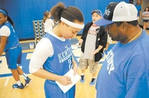 Makayla Epps, UK's top returning scorer, is a preseason All-American and a big reason assistant coach Lin Dunn thinks UK can have another successful season.