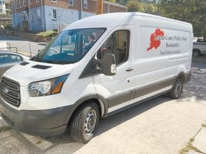 The Letcher County Public Library's new bookmobile was photographed recently.