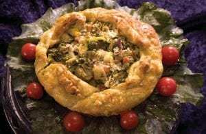 Roasted Vegetable Croustade