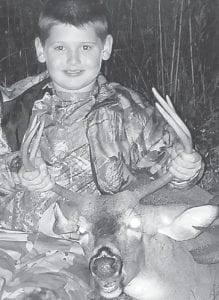 — Nine-year-old Dakota Johnson bagged this six-point deer on the annual Kids Hunt. He is the son of Rook and Colleen Johnson of Payne Gap, and has an older brother, Austin Johnson, 18. His grandparents are Elijah Johnson of Jenkins and the late Sissy Johnson, and Brenda and Johnny Mullins of Jenkins.