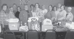 — Members of the Letcher County Retired Teachers Association collected school supplies for distribution to the elementary schools in Jenkins and Letcher County. They sorted and packed dozens of bags during their fall meeting at Las Penas Restaurant. Oct. 16-22 is Retired Teacher Appreciation Week.