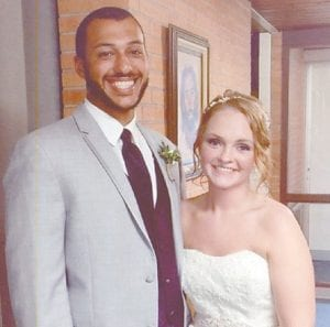 — Erin Benson and Dustin Collins-Miles were married September 24 in Clear Lake, S.D. The bridegroom is the son of Avery and Angela Miles of Premium, and is a graduate of Letcher County Central High School. He earned an associate degree from Hazard Community and Technical College and is employed at A&A Supplies. The bride is the daughter of Steven and Lee Ann Benson of Britton, S.D. She is a graduate of Duell High School in Clear Lake, S.D., and of the dental assistant program at Lake Area Technical Institute. She is employed at Barnes & Noble at Hazard Community College.