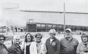 Members of the Premium Baptist Church visited the Ark and Creation Museum near Florence in northern Kentucky recently. Pictured are (left to right) Sybil Whitaker, Juanita Banks, Anglea Craft, Ruth Gibson, Carolyn Boggs, Danny Boggs and Marie Coleman. (Picture by Fred Coleman)