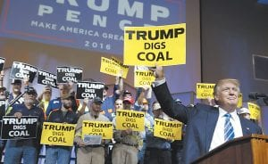 We say the president-elect can, but only if he demands that Congress fund the cost of a clean-coal research and development project like none seen before. (AP Photo)