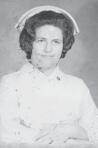 Pictured about 1975 is the late Della Howard Pennington. She was a daughter of the late Cinda and Bill Howard and a sister of Whitesburg correspondent Oma Hatton.