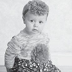 — Kara Blake Middaugh turned one year old November 19. She is the daughter of David and Robin Middaugh of Blackey. Her grandparents are Shane and Kendra Collier of Roxana, and Beth and Danny Bentley of Potters Fork and the late Roger Middaugh. Her great-grandparents are Robert and Lois Ison of Roxana.