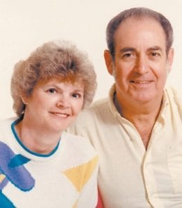 This photograph of Diane Cornett and the late Emory Cornett was taken in 1990.
