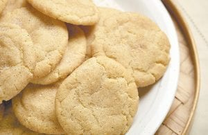 A snickerdoodle is a sugar cookie that is rolled in cinnamon-sugar before being baked. They are perfect for satisfying a sweet tooth. (AP Photo/Culinary Institute of America)