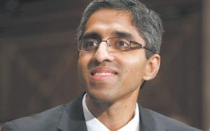 """A new report by surgeon general Dr. Vivek Murthy (above) calls for a major cultural shift in the way Americans view drug and alcohol addiction. The report, """"Facing Addiction in America,"""" details the toll addiction takes on the nation and explains how brain science offers hope for recovery. (AP Photo)"""