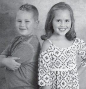 Anna and Eli Hatton, the children of Jamie and Julie Hatton, are the great-grandchildren of Whitesburg correspondent Oma Hatton.