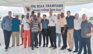 A documentary on Kentucky's 1996 national title team will be shown Christmas Day on TV stations across the state. (Cameron Mills Photo)
