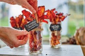 Caramelized Bourbon Bacon