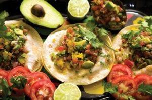 Quesadillas get a healthy makeover.