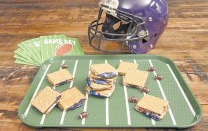"""If you love marshmallow and chocolate and have fun, nostalgic memories of campfire s'mores, these simpler """"no-bake"""" treats will be a delight while watching the big game. These treats are a guaranteed crowd pleaser for people of all ages. (AP Photo)"""
