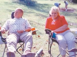 """Astor """"Red"""" Hatton and wife Rosemary are pictured at a Howard reunion a few years back."""