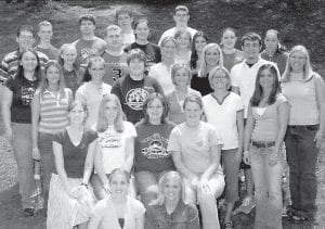 Interact is a Rotary-sponsored service club for young people. Made up of members ages 14-18 or secondary school age, Interact gives young people an opportunity to participate in fun, meaningful service projects. Along the way, Interactors can develop their leadership skills and initiative while meeting new friends. WHS Interact Club members are (top row, left to right) Matt Banks, Jordan Collier, Jacob Yinger, Josh Tyree, Ashley Stidham, Ryan Sexton, (second row) Emily Sergent, Hope Mullins, Chris Collins, Erica Bailey, Francis Mullins, Cassie Whitaker, Ashley Richardson, Ashley Ison, (middle row) Sierra Kincer, Sabrina Banks, Elizabeth Day, Brandi Cornett, Shelley Garrett, Roxie Smith, Cody Pigman, Brandy Sexton, (fourth row) Jeana Lucas, Jessica Boggs, Amber Wurschmidt, Ashley Ison, (front row) Brittney Adams and Megan Stidham.