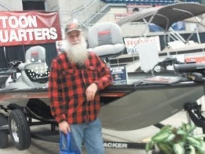 Fishing columnist Greg 'Gabby' Caudill attended the East Kentucky Boat and RV Show in Pikeville at the Expo Center.