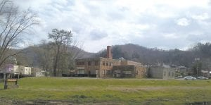 The Whitesburg campus of Southeast Kentucky Community and Technical College (SKCTC) is centered around the old Coca-Cola bottling plant on the bank of the North Fork of the Kentucky RIver. (Photo by Sam Adams)