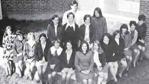 Pictured are members of the 1970 WHS Future Business Leaders of America Club.