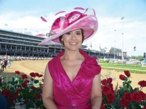 ALWAYS DREAMING — WLEX-TV anchor Nancy Cox, a former Miss Kentucky, likes Always Dreaming for her Kentucky Derby pick.