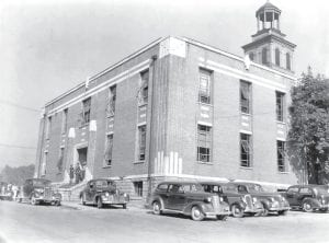 2 courthouses & 80 years ago