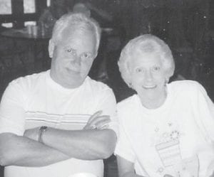 Carol and Edsel Baker attended one of the Hatton reunions at Cowan Community Center.